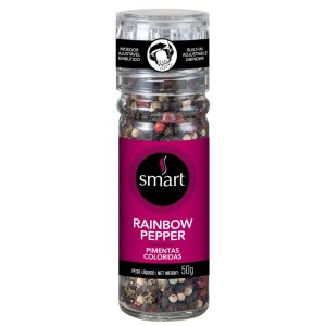 Mix de Pimentas Coloridas - 50g - Smart Temperos