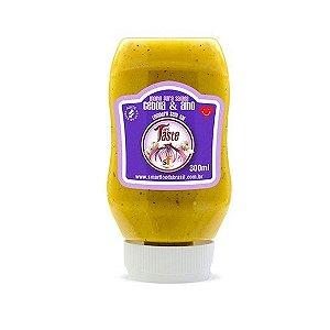 Molho para Salada (Cebola e Alho) 300ml - Mrs. Taste