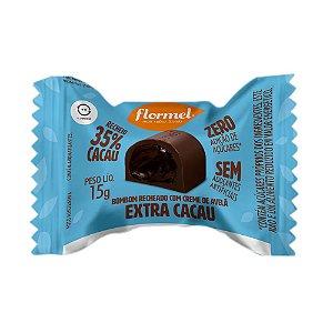 Bombom Extra Cacau (Sem Açúcar) 15g - Flormel