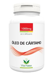 Óleo de Cártamo - 60 Cápsulas (1000mg) - Vital Natus