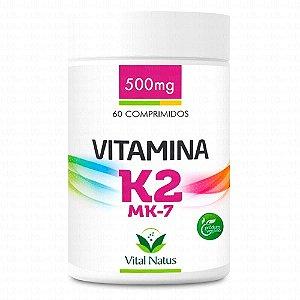 Vitamina K2 - 60 Cápsulas (500mg) - Vital Natus