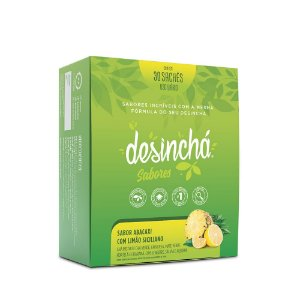 Desinchá Sabores Abacaxi com Limão Siciliano c/ 30 sachês