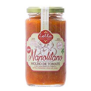 Molho Italiano de Tomate Napolitano - 320g - Lella