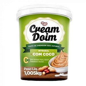 Pasta de Amendoim Cream Doim com Coco (1,005Kg) - Cocada Itapira