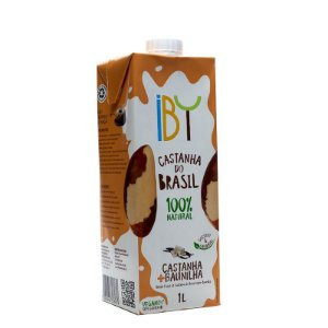 Bebida Vegetal - Castanha do Brasil + Baunilha - 1L - Iby