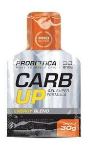 Carb Up Gel Blend Sabor Laranja - 30g - Probiotica