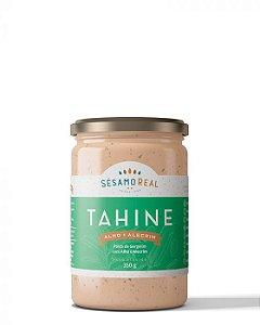 Tahine Alho e Alecrim - 350g - Sésamo Real