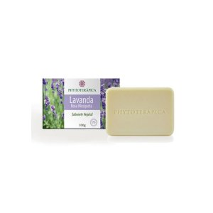 Sabonete Vegetal Lavanda e Rosa Mosqueta - 100g - Phytoterápica