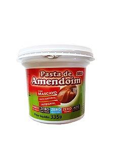 Pasta de Amendoim Com Mascavo - 335g - Grãos e Cereais
