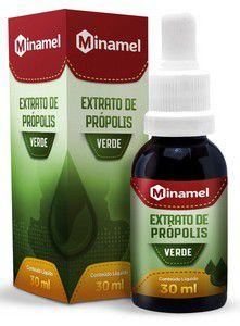 Extrato de Própolis Verde - 30 ml - Minamel