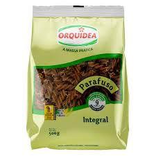 Macarrão Integral Parafuso - 500g - Orquidea