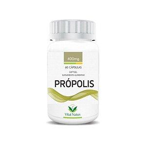 Própolis - 60 Cápsulas (400mg) - Vital Natus