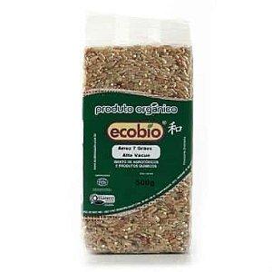 Arroz 7 Grãos Orgânico - 500g - Ecobio