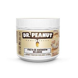 Pasta de Amendoim Beijinho Com Whey Protein - 500g - Dr. Peanut