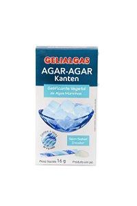 Agar - Agar Gelificante Vegetal de Algas Marinhas - 16g (4 Sticks) - Gelialgas