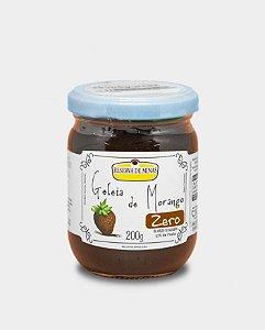 Geleia de Morango Zero Adição de Açúcares - 200g - Reserva de Minas