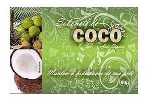 Sabonete de Coco Antisséptico - 90g - Bionature