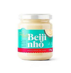 Beijinho Vegano com Pedacinhos de Coco - 170g - Fru-Fruta