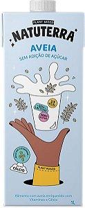 Bebida Vegetal de Aveia Sem adição de Açúcar - 1L - Natuterra