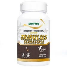 Tribulus Terrestris - 60 Cápsulas (500mg) - Bemfitos