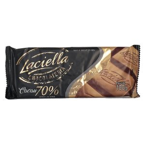Chocolate 70% Cacau - 80g - Laciella