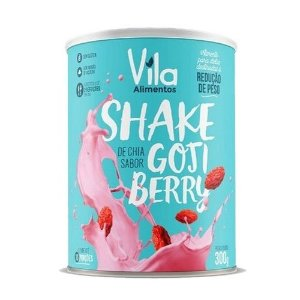Shake de Chia Sabor Gojiberry - 300g - Vila Alimentos