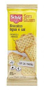 Biscoito Água e Sal - 115g - Schär