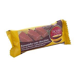 Bananinha Com Chocolate - 25g - Tachão de Ubatuba