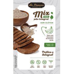 Mix Para Pão Integral com Biomassa de Banana Verde Sem Glúten- 300g - La Pianezza