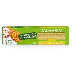 Macarrão de Mandioca e Milho Talharim - 400g - Carpe Etiam