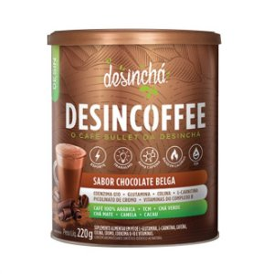 Desincoffee Bebida Energética Sabor Chocolate Belga - 220g - Desinchá
