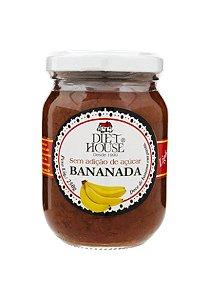 Bananada Cremosa Sem Adição de Açúcar - 250g - Diet House