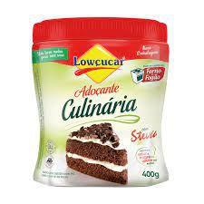 Adoçante Culinário Com Stevia - 400g - Lowçucar