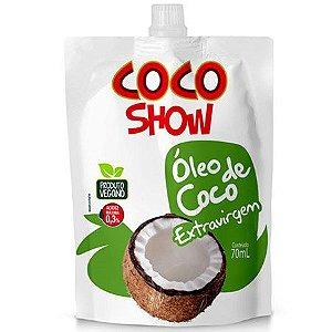 Óleo de Coco Extravirgem Sachê - 70ml - Coco Show