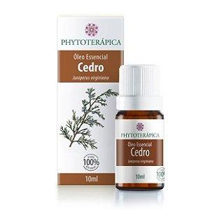 Óleo Essencial de Cedro (Juniperus virginiana) - 10 ml - Phytoterápica