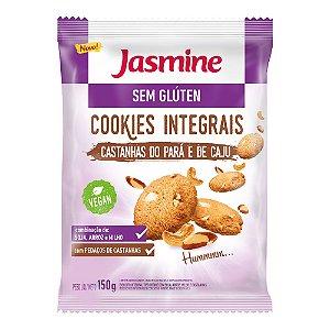 Cookies Integrais Castanhas do Pará e de Caju - 150g - Jasmine