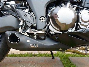 Escapamento Esportivo Kawasaki ZX-10 Firetong Willy Made (2015)