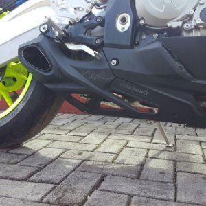 Escapamento Esportivo BMW S1000RR Willy Made Firetong até 2014
