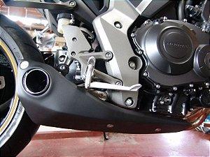 Escapamento Esportivo Honda CB 1000R Firetong Willy Made