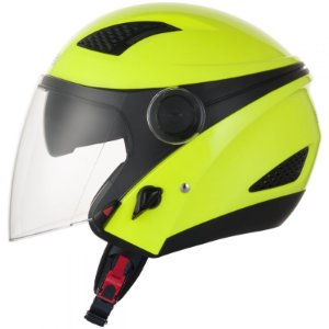 Capacete Zeus 610 NEW CITY FLUOR YELLOW