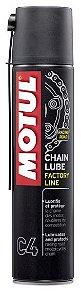 Spray Graxa para Corrente Factor Line C4 400ml - Motul
