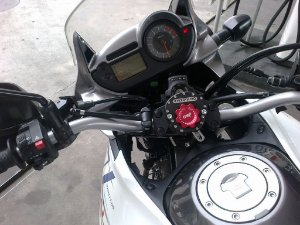 Amortecedor de Direção Maxracing para Honda XL 700V Transalp