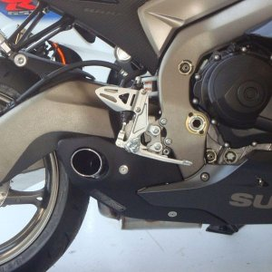 Escapamento Esportivo Suzuki GSXR 1000 (11/13) Willy Made Firetong