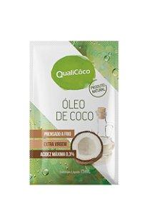 Óleo de Coco Extra Virgem QualiCôco Sachê 15ml