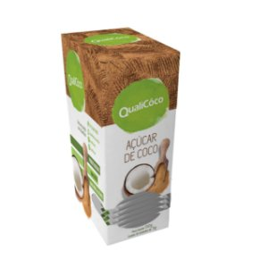 Açúcar de Coco QualiCôco Display 150g (30x5g)