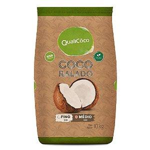 Coco Ralado Médio QualiCôco 10kg