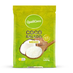 Coco Ralado Médio QualiCoco 1,010kg