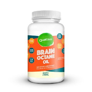 Brain Octane Oil QualiCoco 250mL