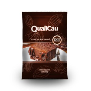 CHOCOLATE EM PÓ 100% CACAU QUALICAU 1,010KG