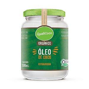 Óleo de Coco Extravirgem Orgânico 500mL QualiCoco